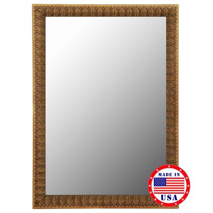 Hitchcock Butterfield 81140X 2nd Look Copper Bronze Leaves Framed Wall Mirror