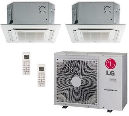 LG 704194 Dual-Zone Mini Split Air Conditioners