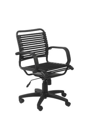 """Euro Style 02572BLK 25"""" Contemporary Office Chair"""