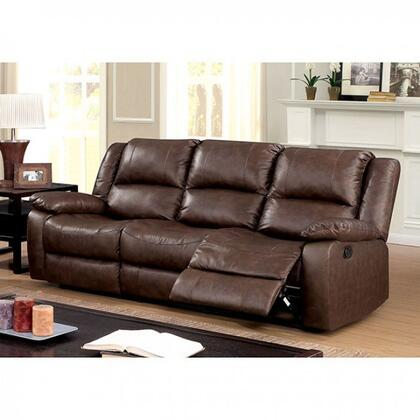 Furniture Of America Cm6293sf Kris Series Leather Sofa Appliances