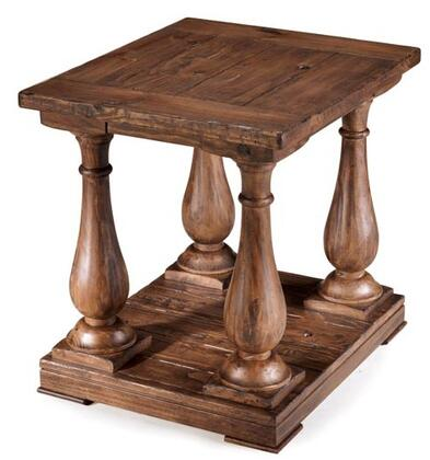 Magnussen T169503 Densbury Series Traditional Rectangular End Table
