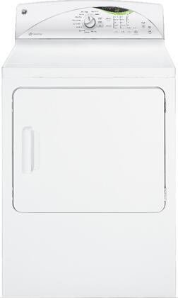 GE GTDN550EDWW Electric Dryer
