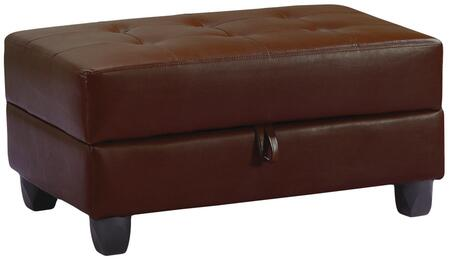 Glory Furniture G300O  Bycast Leather Ottoman
