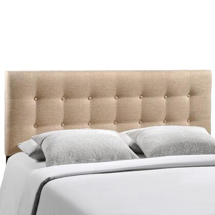 Modway MOD-5174-XXX Emily King Size Contemporary Headboard with Button Tufted Design, Fiberboard and Plywood Frame, and Fine Polyester Upholstery