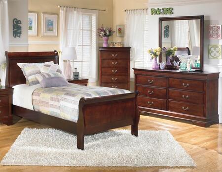 Milo Italia BR530TSLBDM Huerta Twin Bedroom Sets