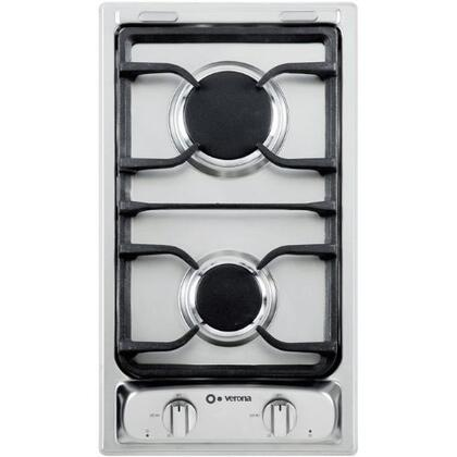 "Verona VEGCT212FX 12"" Gas Sealed Burner Style Cooktop"