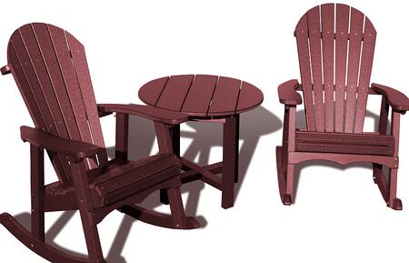 Vifah V1090SET3B Patio Sets