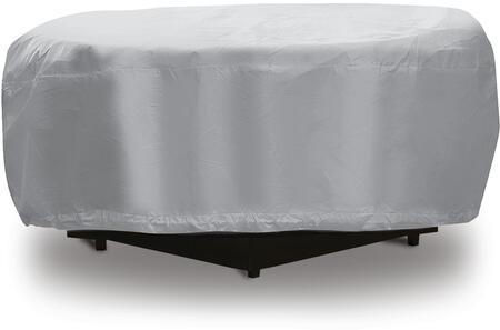 "PCI by Adco 48"" Fire Pit Outdoor Cover with UV Treated, Water Resistant, Soft Fleece Polyproplene Backing and Heavy Duty Vinyl Fabric in"