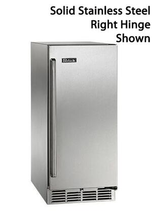 """Perlick HP15R -Use 15"""", 2.8 cu. ft. Capacity, Signature Series Counter Depth, Stainless Steel Refrigerator with"""