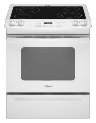 Whirlpool GY397LXUQ Gold Series Slide-in Electric Range with Smoothtop Cooktop Storage 4.5 cu. ft. Primary Oven Capacity