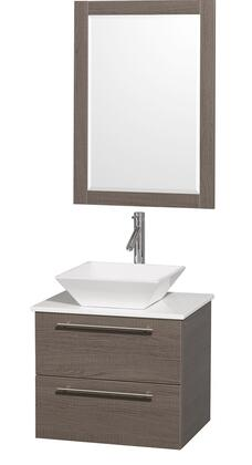 Wyndham Collection WCR410024GOWHD28WH