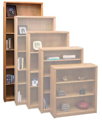 Legends Furniture CC6684LTO Contemporary Series Wood 5 Shelves Bookcase