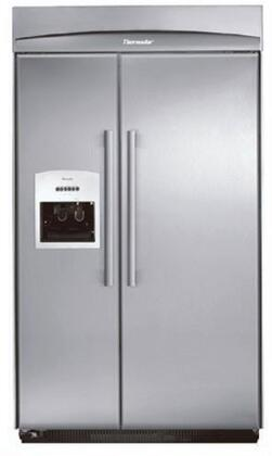 Thermador KBUDT4855E Built In Side by Side Refrigerator