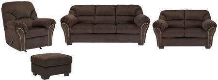 Milo Italia MI3245SLROCHOC Madison Living Room Sets
