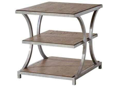 Stein World 240021 Palos Heights Series Traditional Rectangular End Table