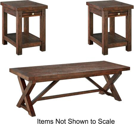 Milo Italia TA636CT2ET Lane Living Room Table Sets