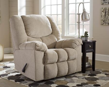 Flash Furniture FSD1459RECPTYGG Turboprop Series Contemporary Fabric Metal Frame  Recliners