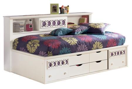 Milo Italia BR205397681 Mendoza Series  Full Size Storage Bed