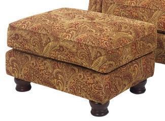 Jackson Furniture 70710 Traditional Fabric Ottoman