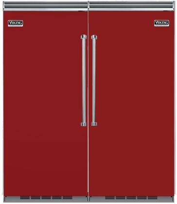 Viking 736374 5 Side-By-Side Refrigerators