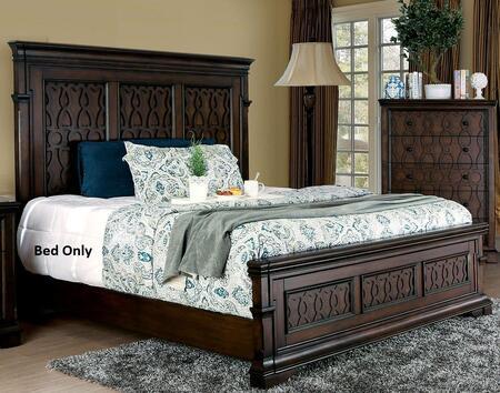 Furniture of America CM7839QBED Minerva Series  Queen Size Panel Bed