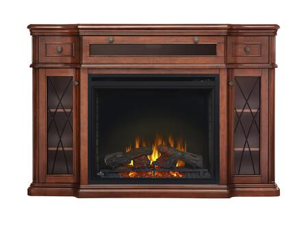 "Napoleon NEFP33 Mantel Package Complete with Black Slate Styled Surround, Pedestal Base, Remote Control and the Ascent 33"" Electric Fireplace"