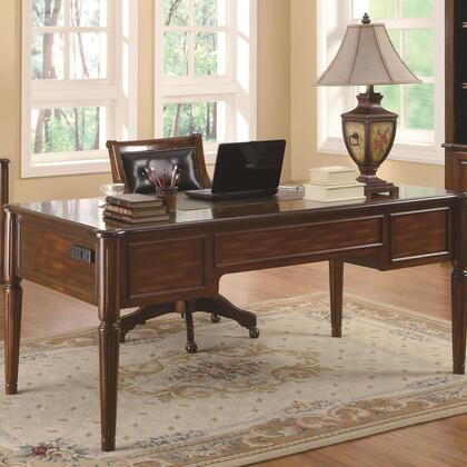 Coaster 800466 Peterson Series Computer  Wood Desk