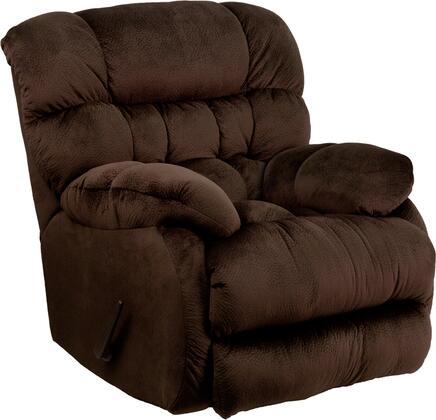 Flash Furniture AM94605XXGG Contemporary Columbia Microfiber Rocker Recliner