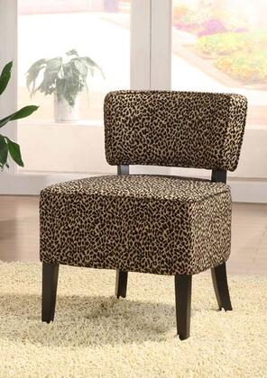 Armen Living LC3121CLLE St. Croix Series  in Leopard Print