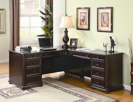 Coaster 801000R Traditional Office Desk