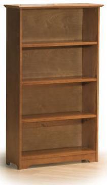 Atlantic Furniture WINDSOR4TBLC Windsor Series  Bookcase