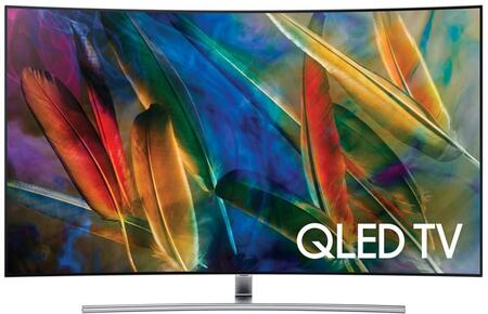 Samsung QN55Q7xAMFXZA Energy Star Rated Q7C QLED 4K TV with Quantum Dots, 4K Ultra HD Resolution, 240 Motion Rate, and Smart Hub, in Black