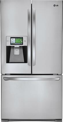 LG LFX31995ST  French Door Refrigerator with 30.7 cu. ft. Total Capacity 4 Glass Shelves |Appliances Connection