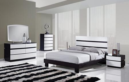 Global Furniture USA CATALINAKB6GRP Catalina King Bedroom Se