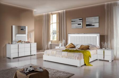 VIG Furniture VGACSANMARINOSETCK San Marino Series 5 Piece Bedroom Set