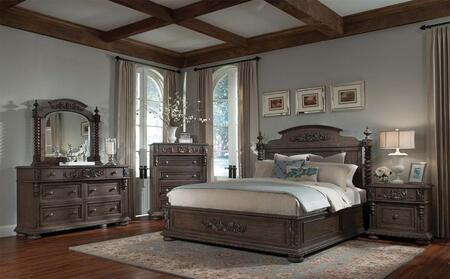 Klaussner 980066DMNS Versailles King Bedroom Sets