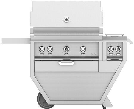 54 in Deluxe Grill with Side Burner    Steeletto