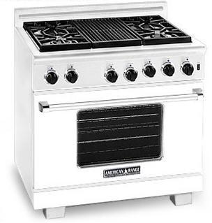 American Range ARR364GDW Heritage Classic Series Natural Gas Freestanding