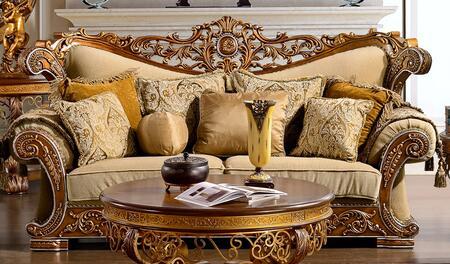 Homey Design HD369S  Stationary Fabric Sofa