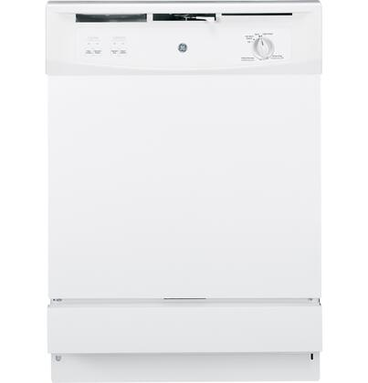 """GE GSM2200VWW 24"""" Spacemaker Series Built In Full Console Dishwasher"""