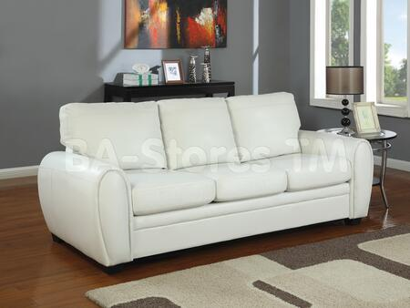 Acme Furniture 15195 Amber Series  Faux Leather Sofa