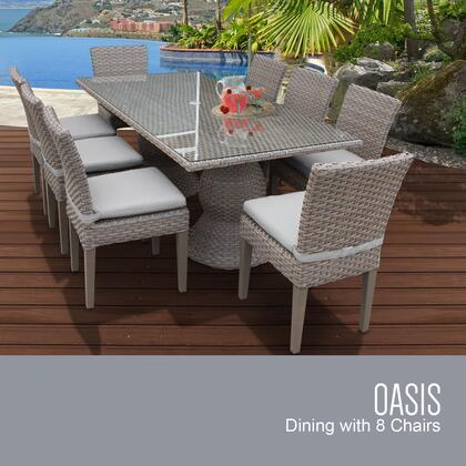 OASIS RECTANGLE KIT 8C GREY