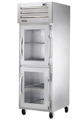 True STG1H-2 Spec Series Reach-In Heated Holding Cabinet with 31 Cu. Ft. Capacity, Low-Velocity Fans, and Swing-Doors