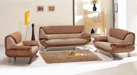 VIG Furniture VGEV7040MF Modern Microfiber Living Room Set