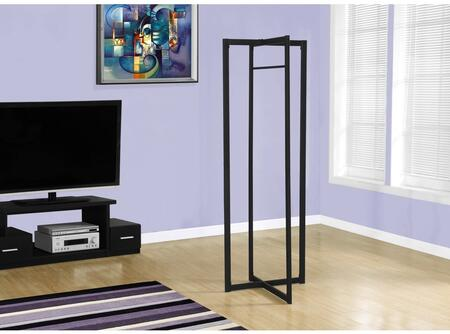 """Monarch I 215X 72"""" Coat Rack with Geometric Design, Modern Style and Ample Storage"""