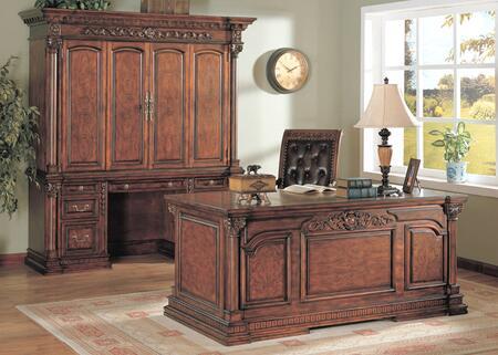 Yuan Tai SA5550D Salime Series Executive Desk  Desk