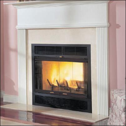 Majestic WMC36 WarmMajic Series  Woodburning Fireplace