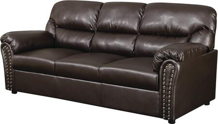 Glory Furniture G265S  Stationary Bonded Leather Sofa