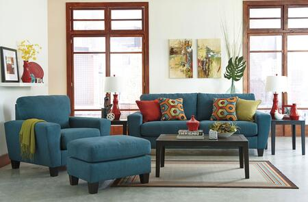 Milo Italia MI3906SCOTEAL Nelson Living Room Sets
