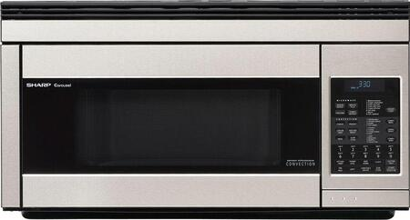 Sharp R1874T 1.1 cu. ft. Capacity Over the Range Microwave Oven